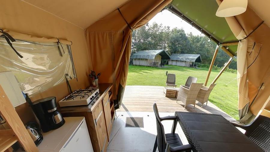 Vodatent safaritent Nederland