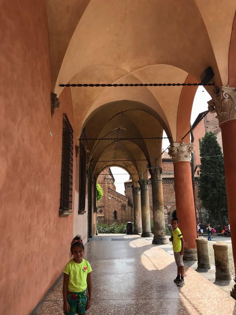 Portici arcades Bologna