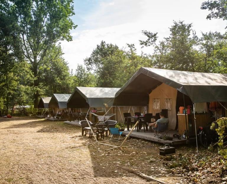 Vakantiepark Herperduin Vodatent safaritent Nederland