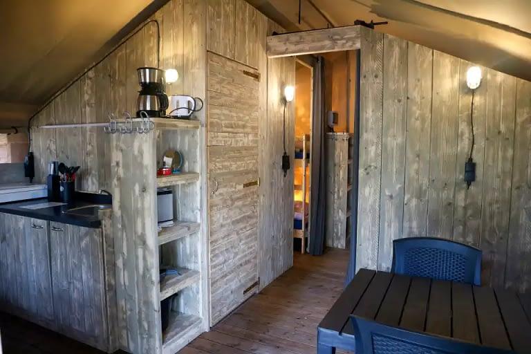 Vodatent camping de Tolbrug