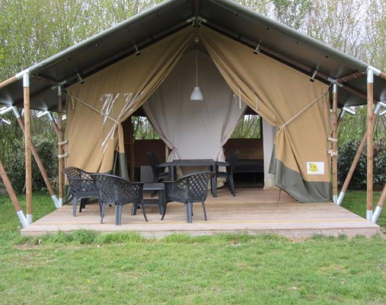Boerencamping Swarthoeve Vodatent Safaritent Nederland