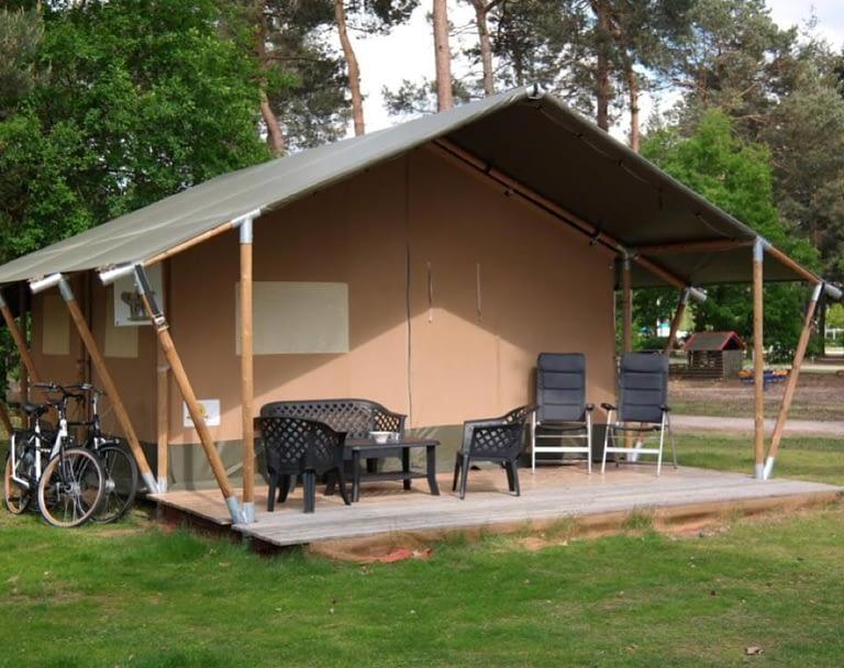Camping Mareveld Vodatent safaritent Nederland