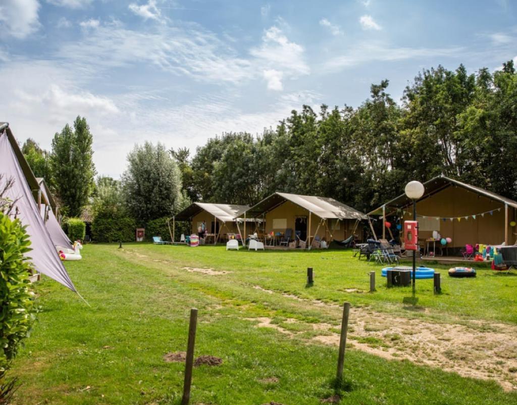Camping Gorishoek Vodatent safaritent Nederland